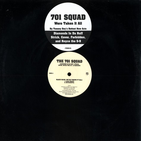 701 Squad - Black mask feat. Diamonds In Da Ruff, Strick, Cover, Royce The 5'9' & Fabbiden