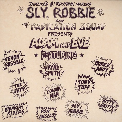 Sly, Robbie &The Radication Squad - Present Adam & Eve