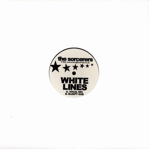 Sorcerers, The - White lines house mix