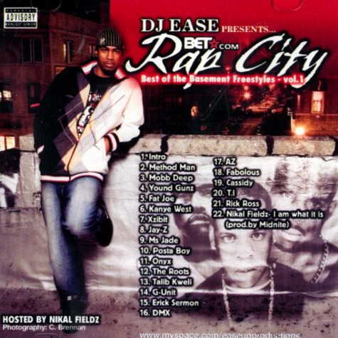DJ Ease - Rap city - best of the Basement freestyles volume 1