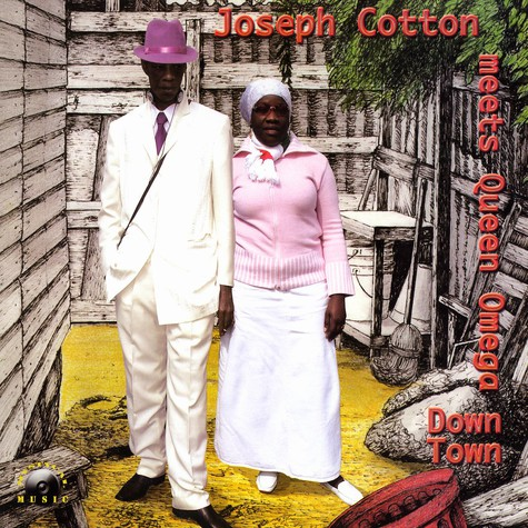 Joseph Cotton meets Queen Omega - Down town