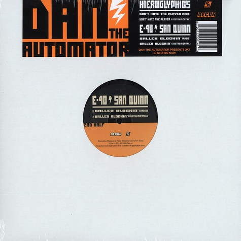 Dan The Automator - Don't hate the player feat. Hieroglyphics