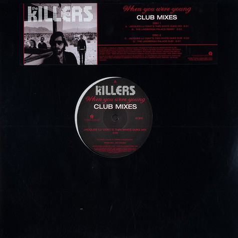 Killers, The - When you were young club mixes