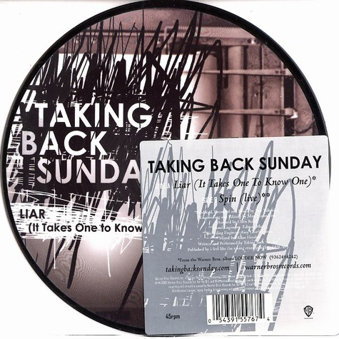 Taking Back Sunday - Liar (it takes one to know one)