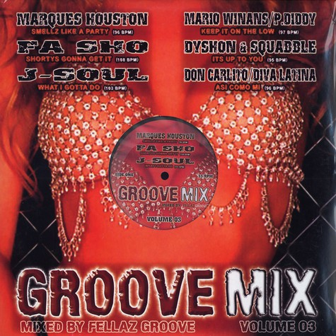 Groove Mix - Volume 3
