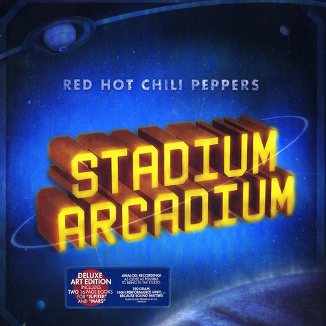 Red Hot Chili Peppers - Stadium Arcadium - deluxe art edition