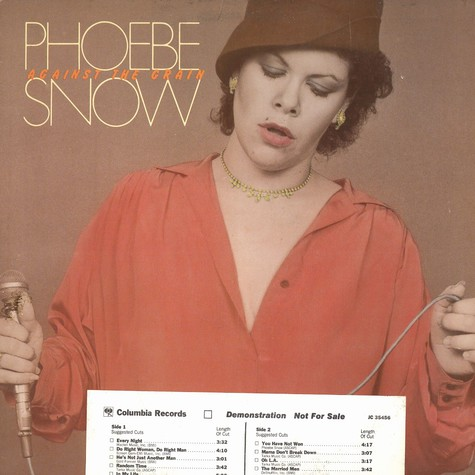 Phoebe Snow - Against the grain