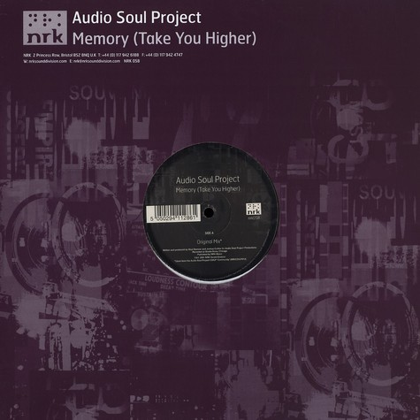 Audio Soul Project - Memory (take you higher)