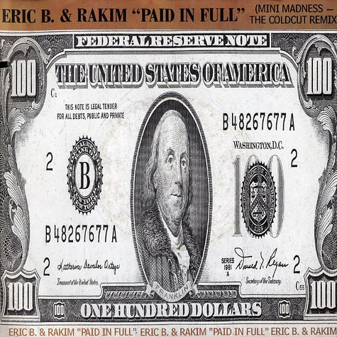 Eric B. & Rakim - Paid in full (Coldcut remix)
