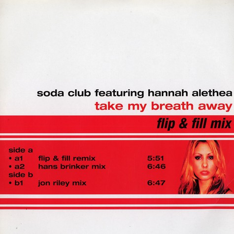 Soda Club - Take my breath away