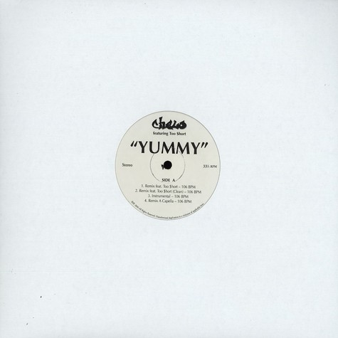 Chelo - Yummy feat. Too Short