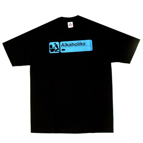 Alkaholiks - Handicap T-Shirt - light blue print