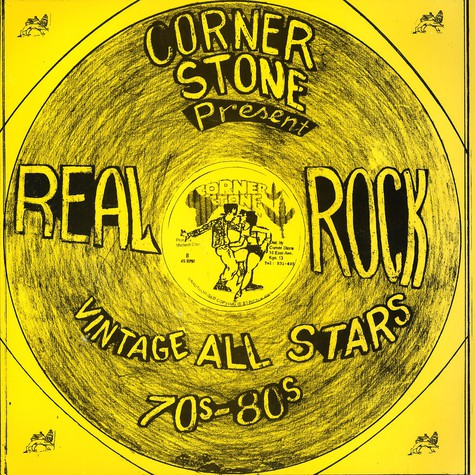 Corner Stone Records presents - Real rock vintage all stars 70s-80s