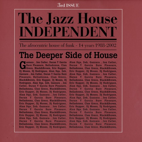 Jazz House Independent, The - 3rd issue