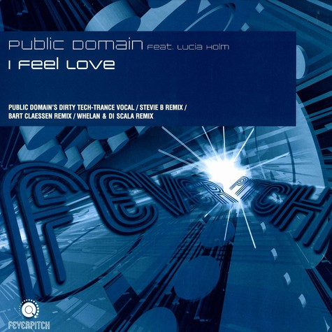 Public Domain - I feel love feat. Lucia Holm