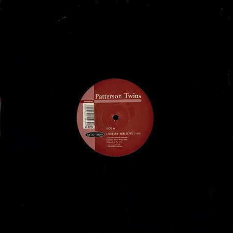 Patterson Twins / Donnell Pitman - I need your love / your love is dynamite