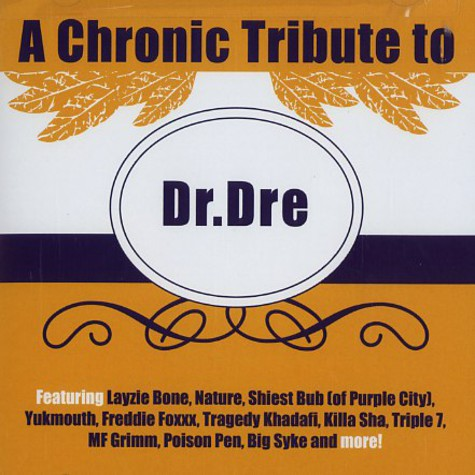 Dr.Dre - A chronic tribute to Dr.Dre