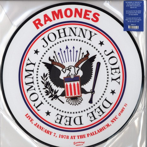 Ramones - Live January 7, 1978 at the Palladium, NYC Part 1