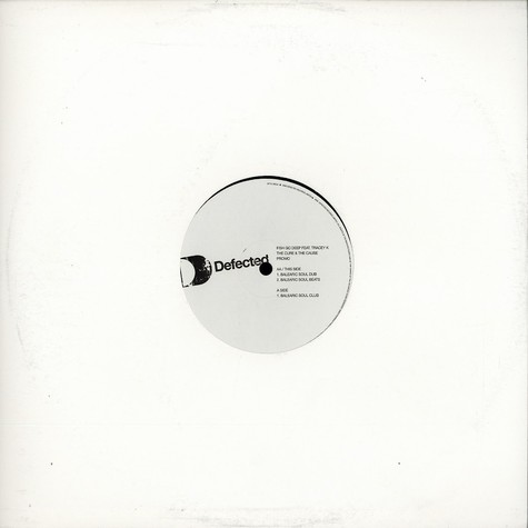 Fish Go Deep - The cure & the cause feat. Tracey K Balearic Soul mixes