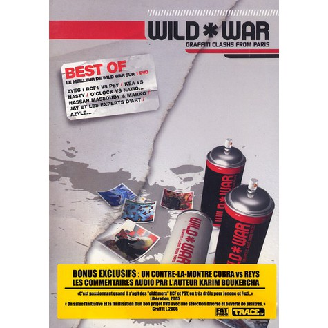 Wild War - Graffiti clashs from paris - best of