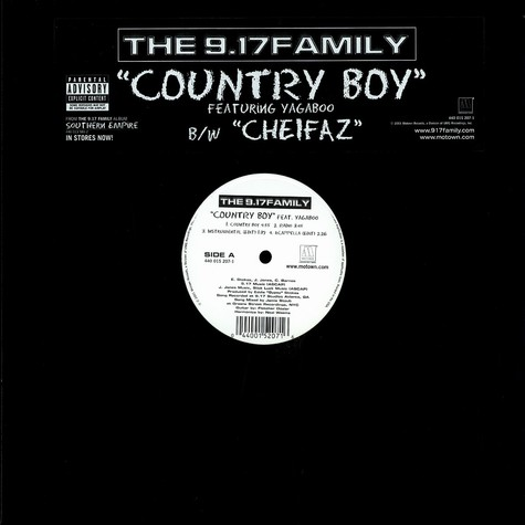 9.17 Family, The - Country boy feat. Yagaboo