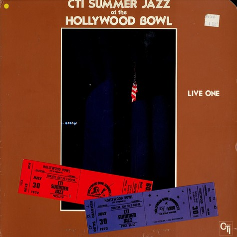 CTI All Stars - CTI summer jazz at the Hollywood bowl live one