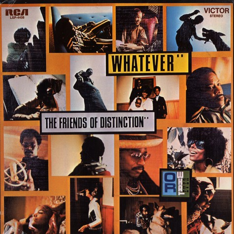 Friends Of Distinction, The - Whatever happens