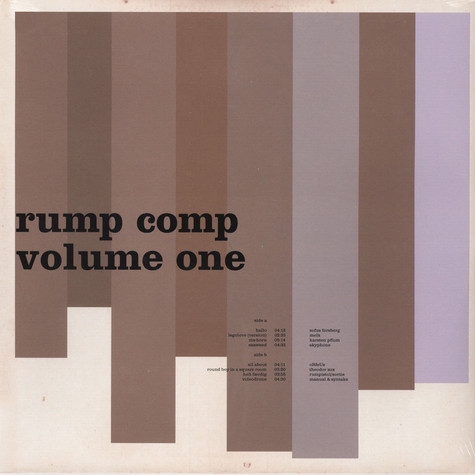 Rump Compilation - Volume One