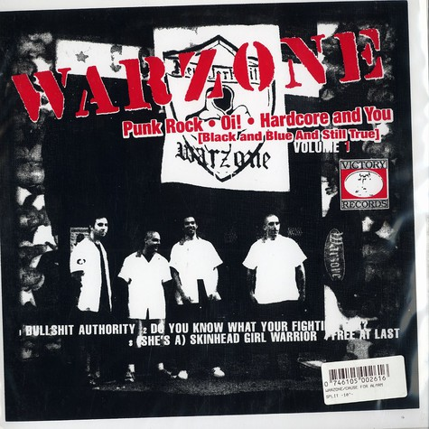 Warzone / Cause For Alarm - Punk rock, oi!, hardcore and you / beyond birth and death