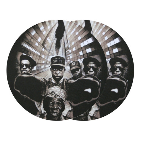 Sicmats - Public Enemy design Slipmat