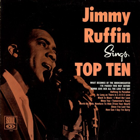 Jimmy Ruffin - Sings Top Ten