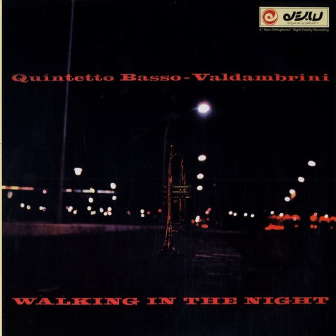 Basso Valdambrini Quintet - Walking in the night