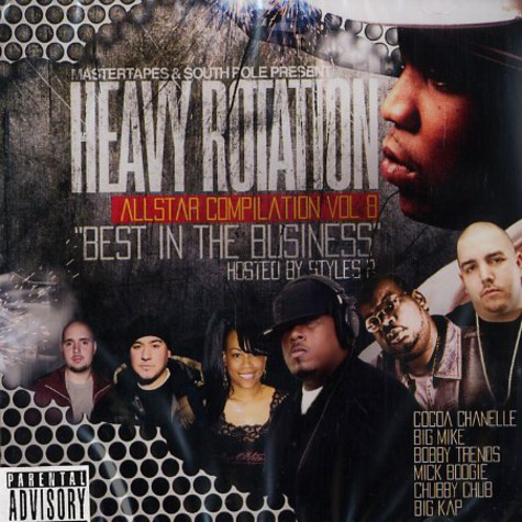 Heavy Rotation Allstar DJs - Heavy rotation all star compilation volume 8