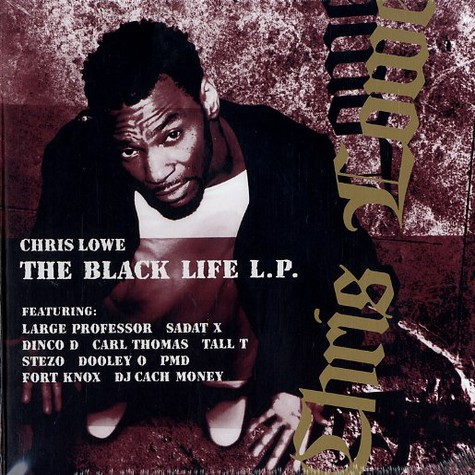 Chris Lowe - The black life LP