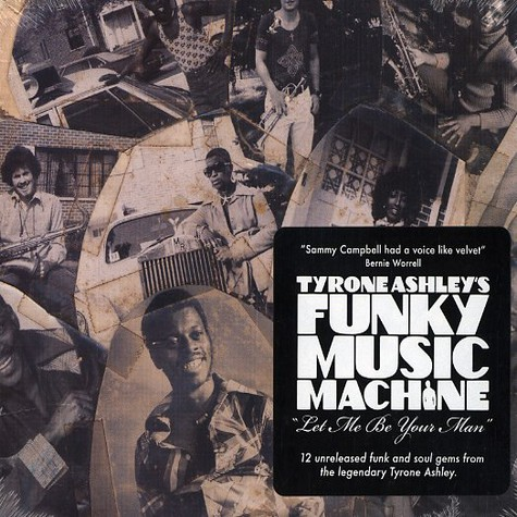 Tyrone Ashley's Funky Music Machine - Let me be your man