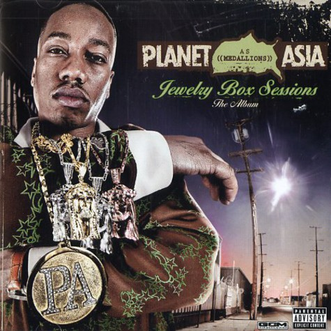 Planet Asia as Medaillons - Jewelry box sessions - the album
