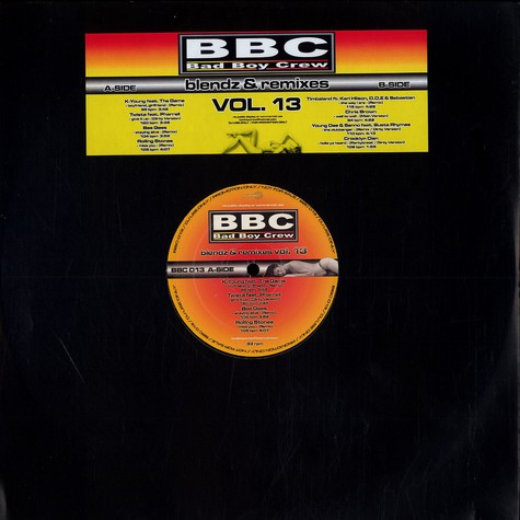 Bad Boy Crew - Blendz & remixes Volume 13