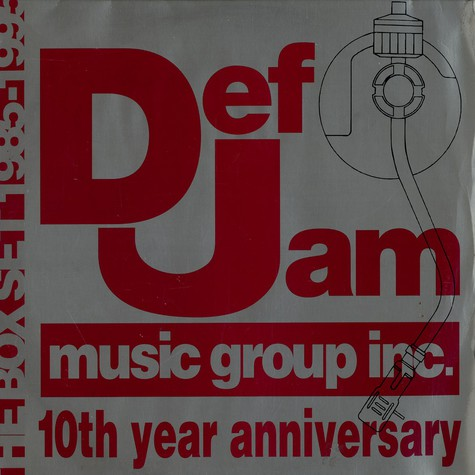 Def Jam presents - 10th year anniversary - phat groove selects