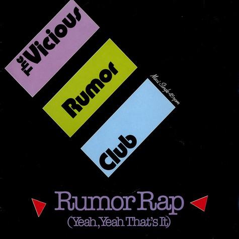 Vicious Rumor Club, The - Rumor rap