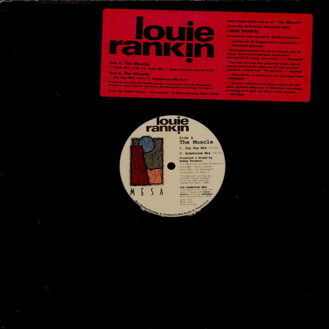 Louie Rankin - The Muscle