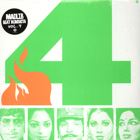 Madlib - Beat Konducta Volume 4 - Beat Konducta In India