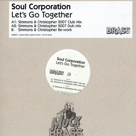 Soul Coporation - Let's go together Simmons & Christopher 2007 mix