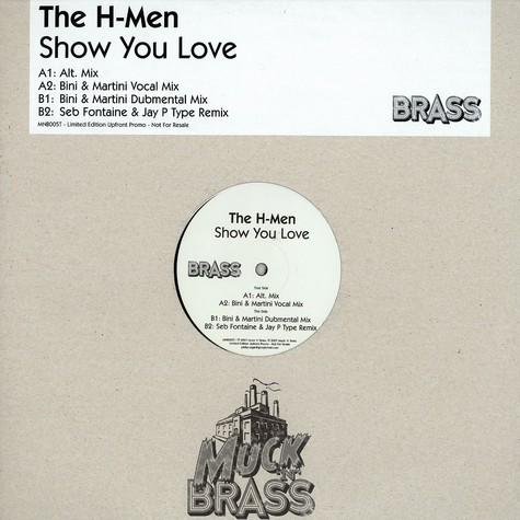H-Men, The - Show you love
