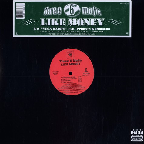 Three 6 Mafia - Like money
