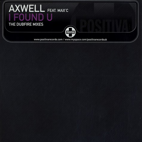 Axwell - I found you feat. Max C The Dubfire mixes