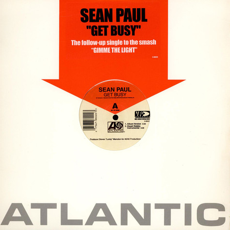 Sean Paul - Get Busy / I'm Still In Love With You