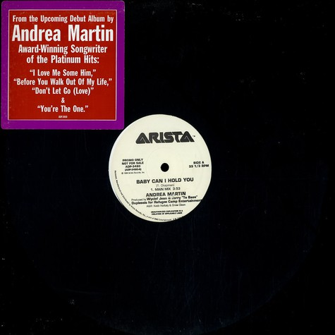 Andrea Martin - Baby can i hold you