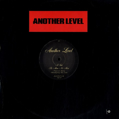 Another Level - Be alone no more