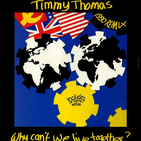 Timmy Thomas - Why Can't We Live Together? (1990 Remix)