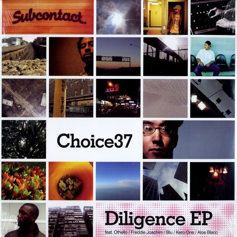 Choice 37 - Diligence EP